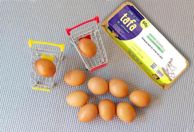 Trứng gà sạch Tafa Việt