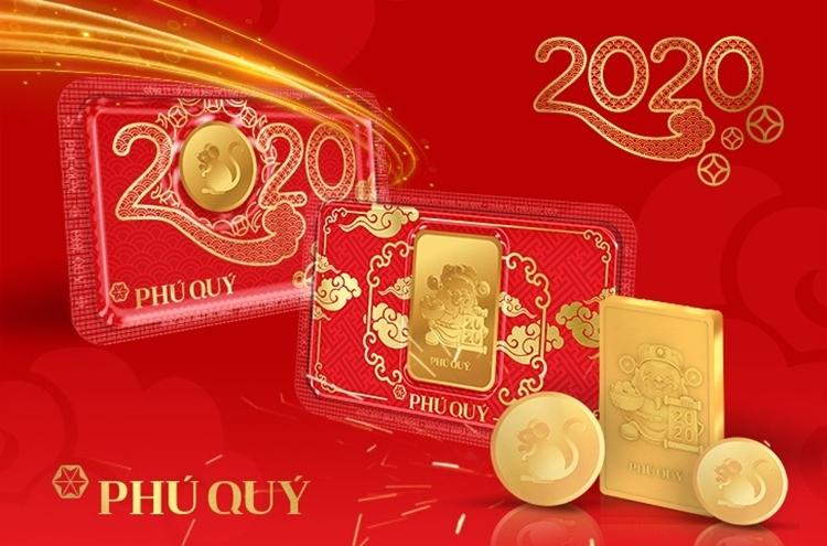 Những sản phẩm ấn tượng trong BST Thần Tài Phú Quý 2020.