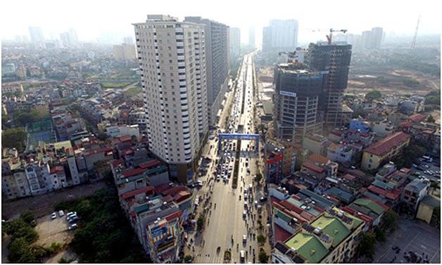 Bất động sản Hà Nội hưởng lợi từ khung giá đất mới