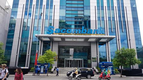 Toà nhà Hội sở Sacombank. Ảnh: PV.