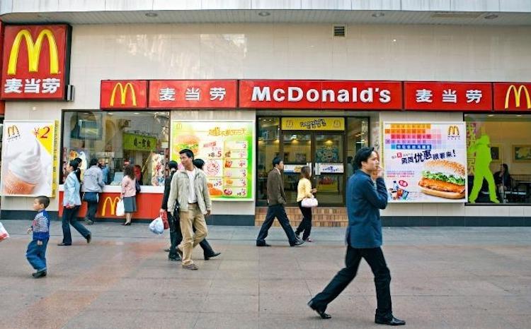 Một cửa hàng của Mc Donalds tại thành phố Vũ Hán (Trung Quốc). Ảnh: CNN