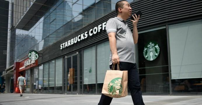 Một cửa hàng của Starbucks tại Trung Quốc. Ảnh: AFP
