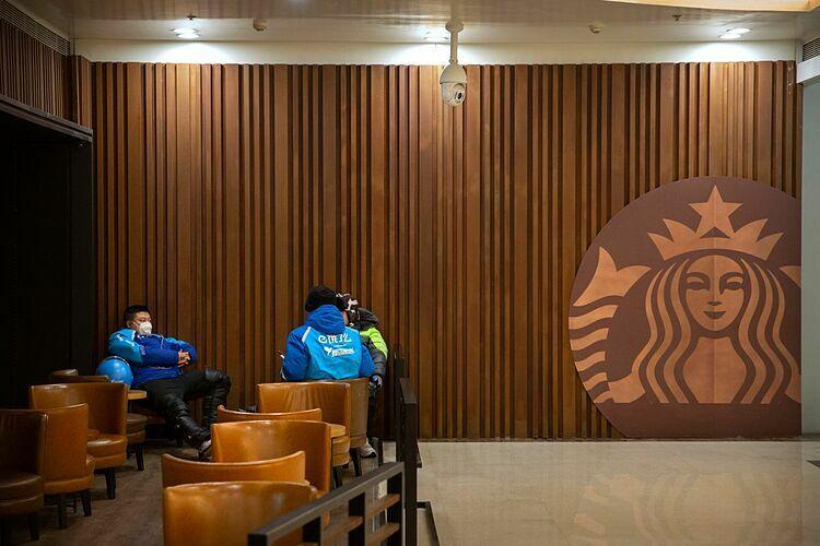 Một cửa hàng của Starbucks tại Trung Quốc. Ảnh: AP