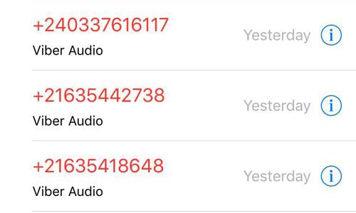 Một số thuê bao liên tục nhận được những cuộc gọi đầu số nước ngoài thông qua các ứng dụng OTT trong thời gian gần đây. Ảnh: TH