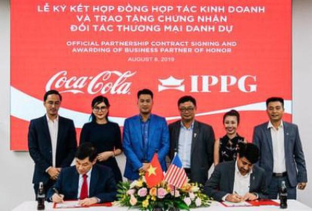 IPPG và Coca Cola ký kết hợp tác phát triển dự án Happiness City.