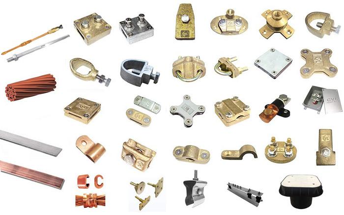 Các sản phẩm hệ thống chống sét và tiếp địa cổ điển Cát Vạn Lợi.