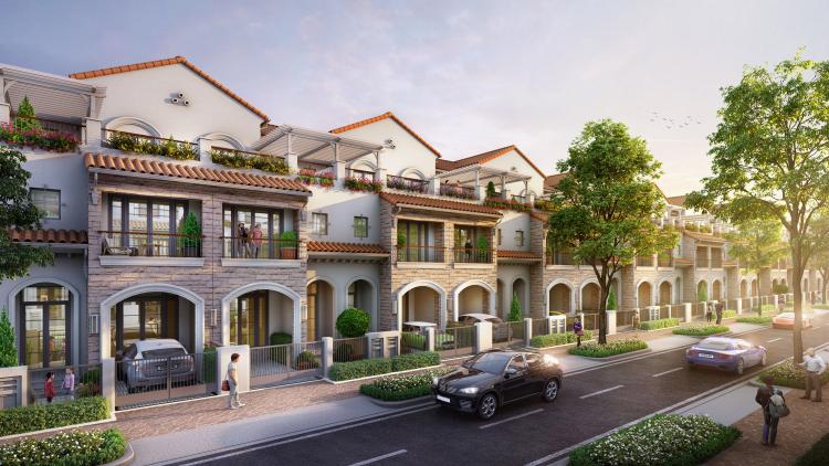 Giá sơ cấp các sản phẩm nhà phố trong khu đô thị hoàn chỉnh liên tục tăng cao.