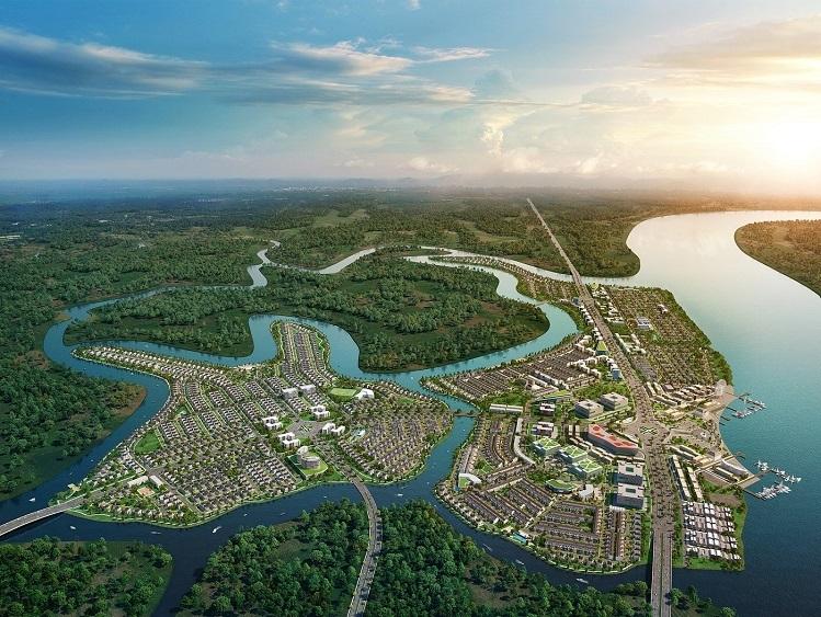 Khu đô thị sinh thái thông minh Aqua City với đa dạng các dòng sản phẩm shophouse nhà phố, biệt thự được thiết kế thông thoáng, đón gió tự nhiên từ các con sông bao bọc xung quanh.