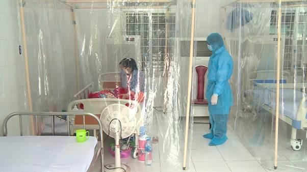 Buồng áp âm cách ly được sử dụng tại Phòng khám đa khoa khu vực Quang Hà, Bình Xuyên, Vĩnh Phúc