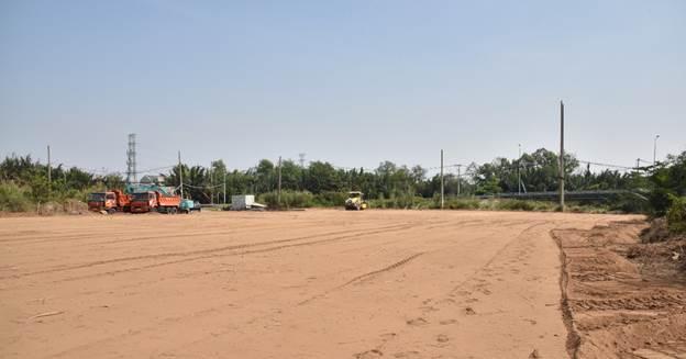 Đô thị 349 ha tại Nhà Bè khởi công xây hạ tầng