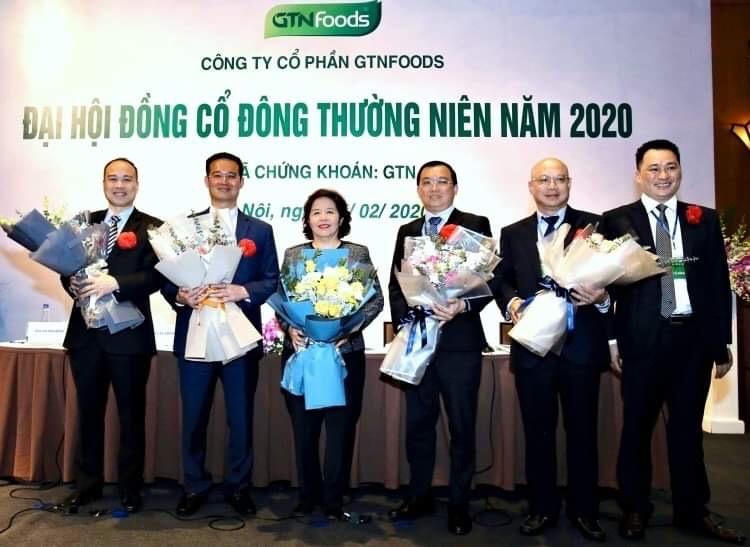 Hội đồng quản trị nhiệm kỳ mới của GTN có 4 người mới từ Vinamilk. Ảnh: Minh Sơn