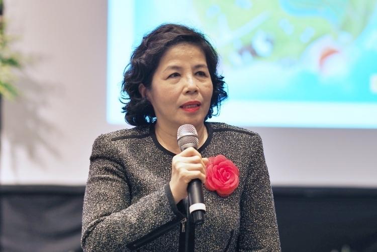 Bà Mai Kiều Liên làm Chủ tịch công ty mẹ Sữa Mộc Châu