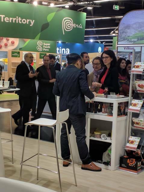 11 doanh nghiệp Việt góp mặt trong hội chợ về nông sản hữu cơ tại Đức.