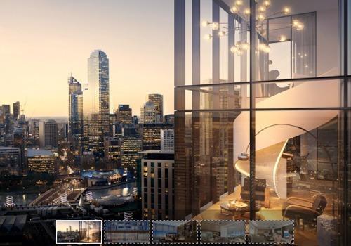 Phối cảnh một dự án căn hộ hạng sang tại TP HCM có giá chào bán gần 300 triệu đồng mỗi m2.