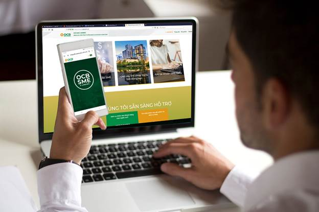 Kênh vay vốn trực tuyến của OCB hỗ trợ cho doanh nghiệp