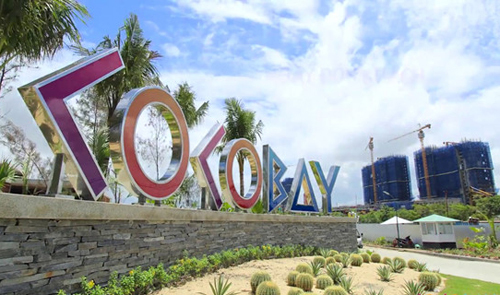 Dự án CocoBay Đà Nẵng có hàng nghìn căn hộ condotel, biệt thự nghỉ dưỡng gần đây bị đổ vỡ cam kết lợi nhuận. Ảnh: Emprie Group