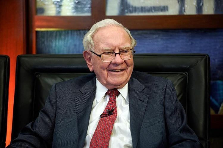 Chủ tịch kiêm CEO Berkshire Hathaway Warren Buffett. Ảnh: AP