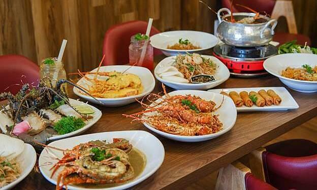 Vua Cua ra mắt buffet tôm hùm xanh - Kinh Doanh