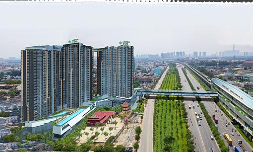 Shophouse Metro Star kết nối cầu bộ hành đến nhà ga Metro - Kinh Doanh