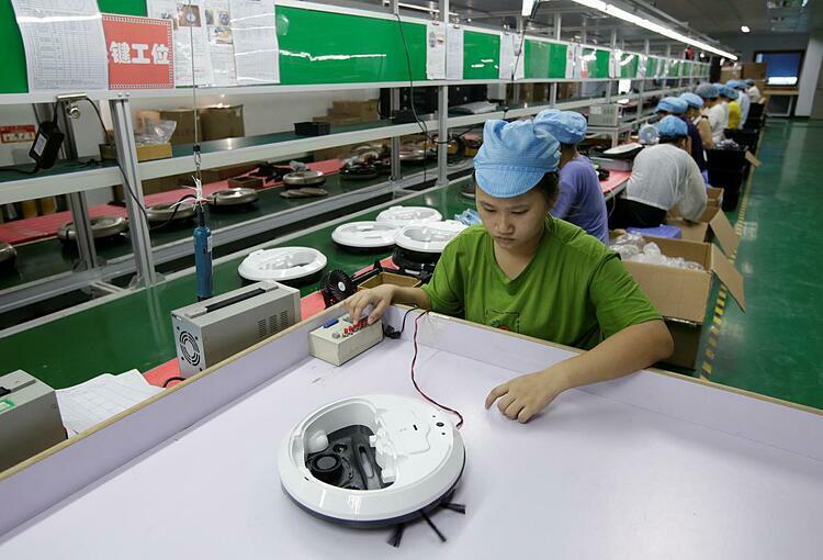 Hoạt động sản xuất tại Trung Quốc thấp kỷ lục - ảnh 1