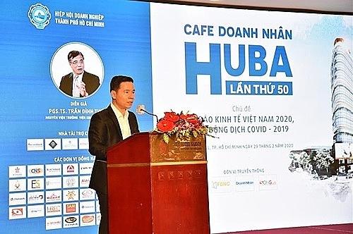 ÔngĐinh Văn Thành, Chủ tịch Hội đồng Quản trị SCB phát biểu tại lễ ký kết.