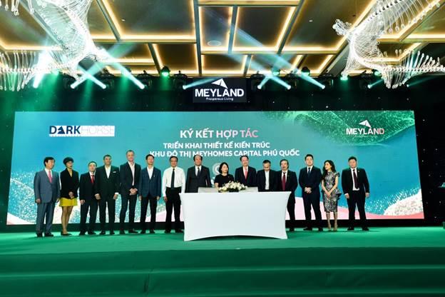 Tân Á Đại Thành – Meyland ký kết hợp tác với các đối tác triển khai Meyhomes Capital Phú Quốc.