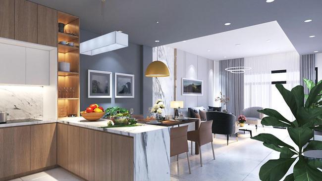Thiết kế một căn hộ tại dự án.