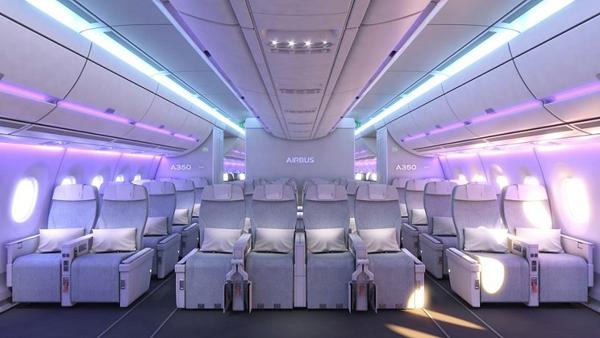 Cabin Airspace của A350XWB.