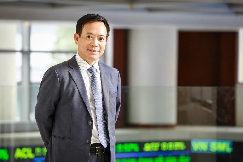 Ông Trần Văn Dũng - Chủ tịch Ủy ban Chứng khoán Nhà nước. Ảnh: Thành Nguyễn.