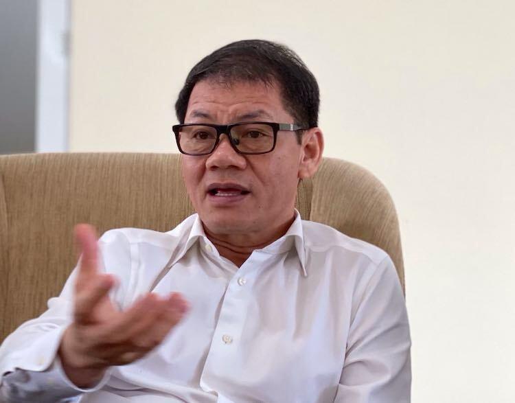 Ông Trần Bá Dương - Chủ tịch Tập đoàn Thaco. Ảnh: Hoài Thu