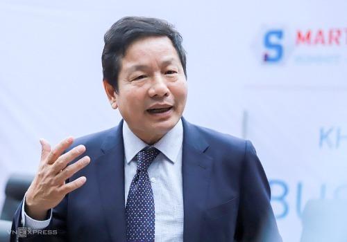 Ông Trương Gia Bình - Chủ tịch Tập đoàn FPT. Ảnh: Nguyễn Đông