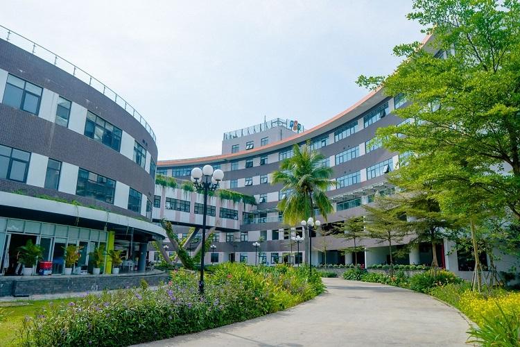 Khuôn viên FPT Software Đà Nẵng.