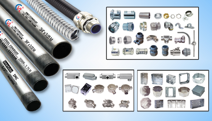 Ống thép luồn dây điện CVL tại nhiều công trình trong nước - 1