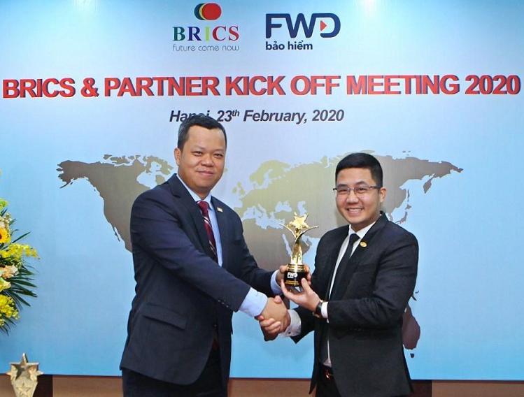 Hợp tác giữa BRICS và FWD được xem là một trong những điển hình cho mô hình Đại lý tổ chức tại Việt Nam.