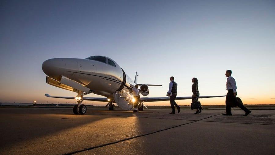 Dịch vụ cho thuê máy bay riêng chỉ sôi động ở đầu dịch Covid-19, khi các nước chưa phong tỏa đi lại gắt gao. Ảnh: PrivateFly
