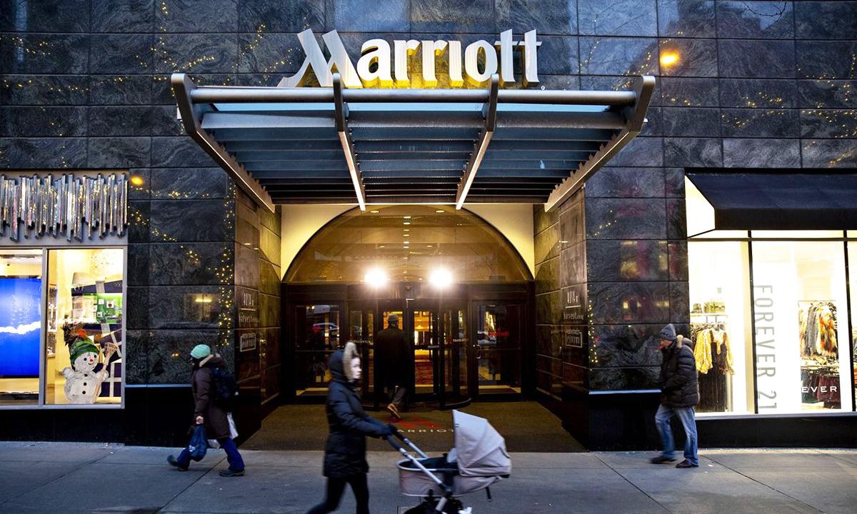 Một khách sạn Marriott tại Mỹ. Ảnh: Bloomberg