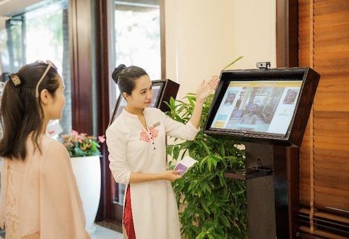 Năm 2019, Vinperl từng ứng dụng công nghệ nhận diện gương mặt tại các khách sạn. Ảnh: Vinperl
