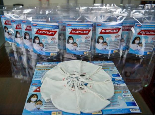 Khẩu trang vải kháng khuẩn Hasun Mask.