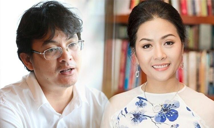 Ông Nguyễn Ảnh Nhượng Tổng và bà Trần Uyên Phương. Đồ họa: Tạ Lư