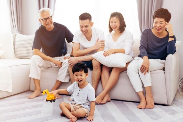 Gia đình đa thế hệ. Ảnh: Twinster Photo
