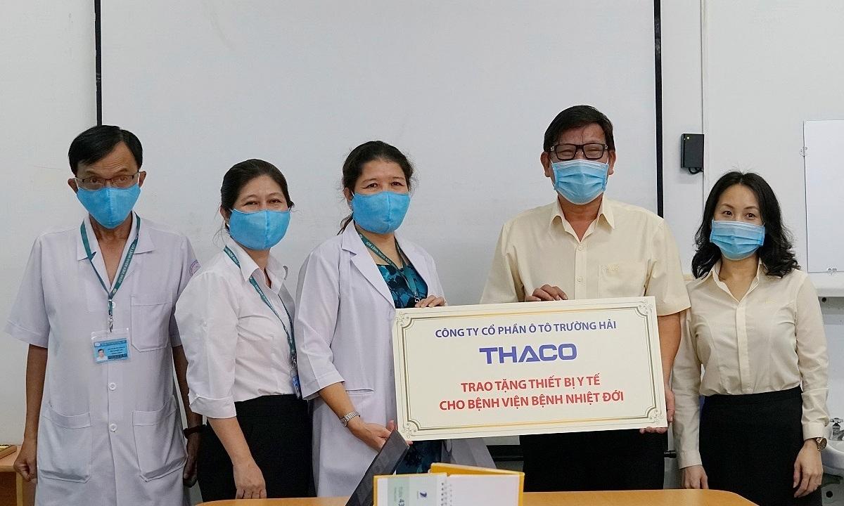 Thaco tài trợ thiết bị y tế hỗ trợ phòng chống Covid-19 - Kinh Doanh