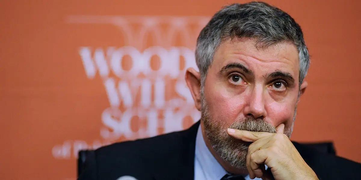 Nhà kinh tế học đạt giải NobelPaul Krugman. Ảnh: Business Insider