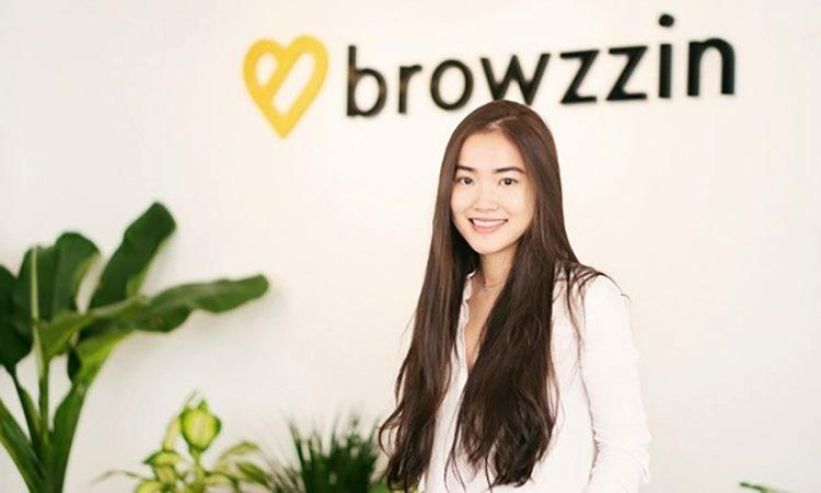 Võ Trang - đồng sáng lập Browzzin. Ảnh: FB nhân vật.