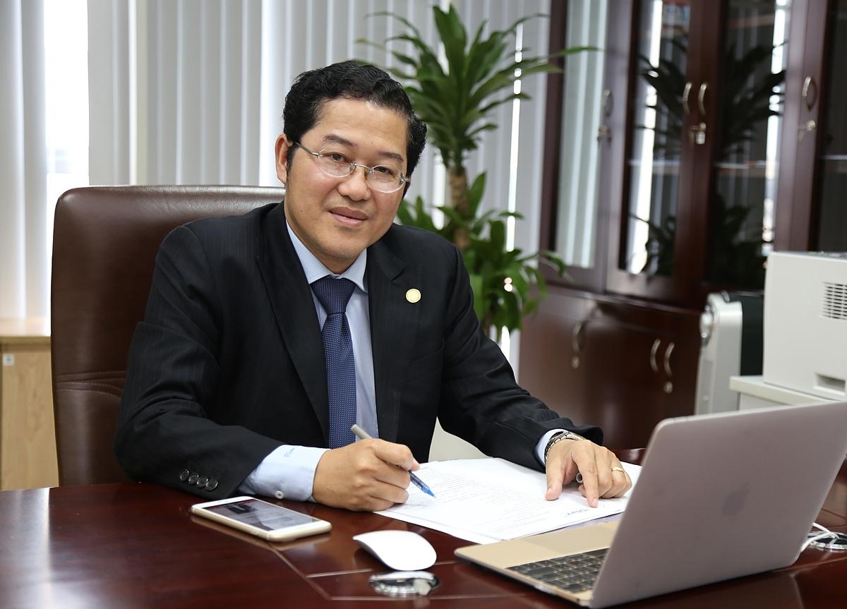 Ông Phạm Quốc Thanh giữ vị trí Tổng giám đốc HDBank.
