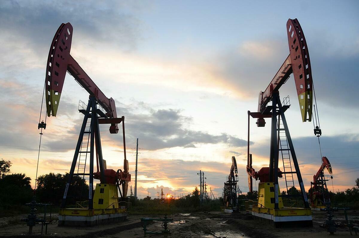 Một cơ sở khai thác dầu tại Hắc Long Giang (Trung Quốc). Ảnh: Reuters