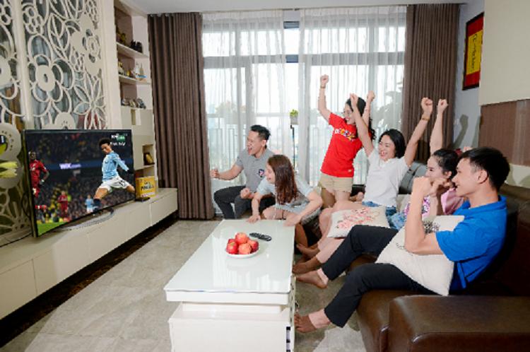 Khán giả theo dõi chương trình thể thao trên K+.