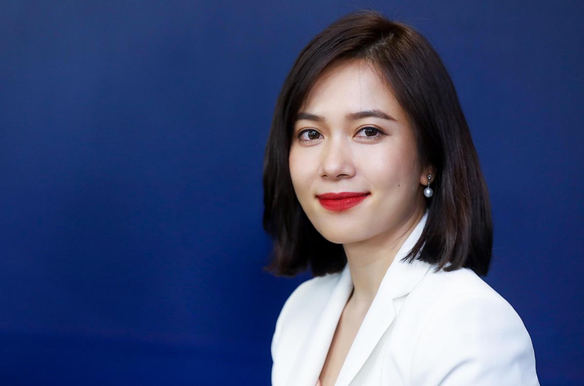 Bà Trần Thu Hương - Giám đốc Chiến lược và Phát triển Kinh doanh kiêm Giám đốc Khối Ngân hàng Bán lẻ của VIB. Ảnh: Quỳnh Trần.