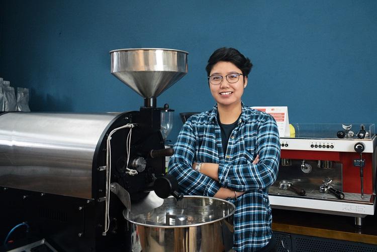 CEO Phin Việt Phạm Minh Châu. Ảnh: Tuyết Nhung.