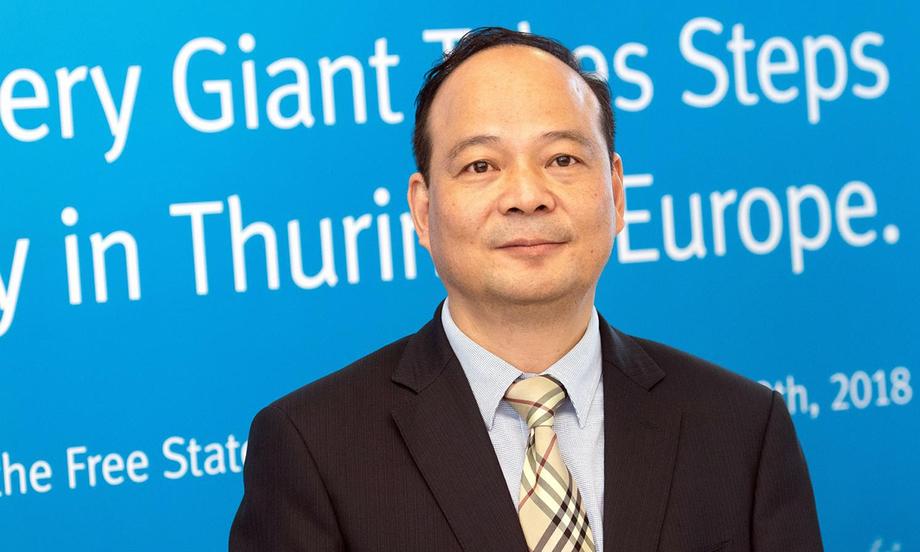 Nhà sáng lập, chủ tịch CATL Robin Zeng. Ảnh: Forbes