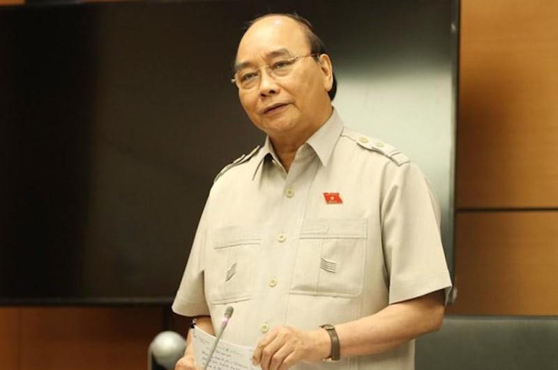 Ông Nguyễn Xuân Phúc - Chủ tịch nước. Ảnh: Hoàng Phong